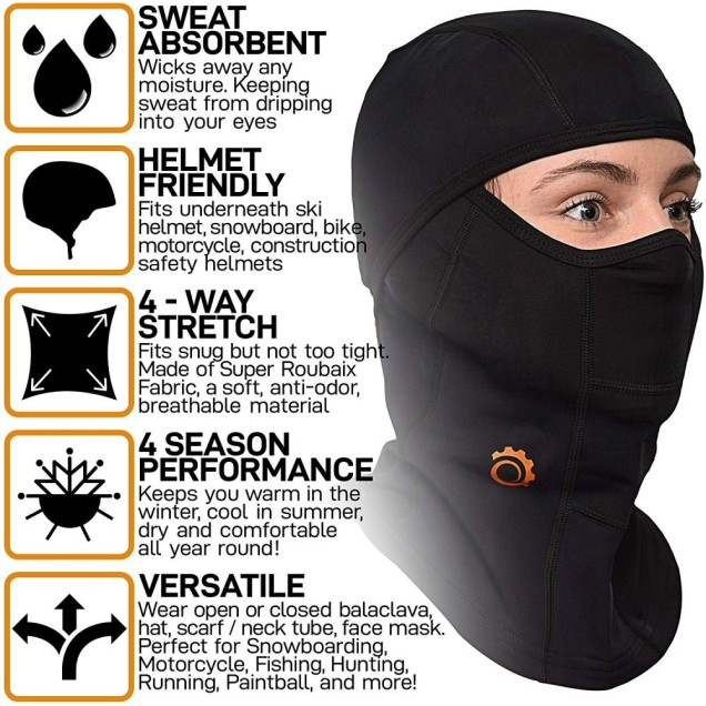 Great balaclava for all riders