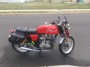 Royal enfield GT 535i red